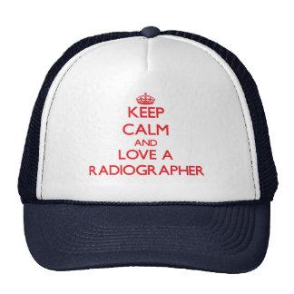 Mantenha a calma e ame um técnico de radiologia bone