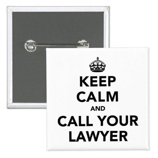 Mantenha a calma e chame seu advogado boton