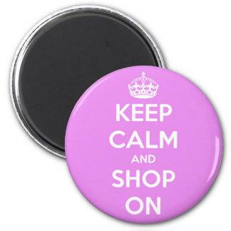 Mantenha a calma e comprar no rosa imas
