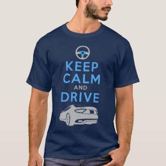Mantenha a calma e conduza - GranTurismo- Camiseta