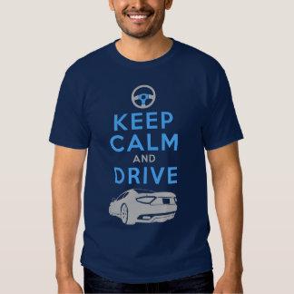 Mantenha a calma e conduza - GranTurismo- Tshirts