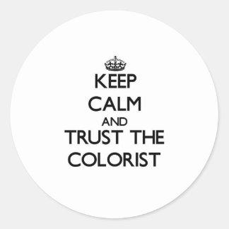 Mantenha a calma e confie o Colorist