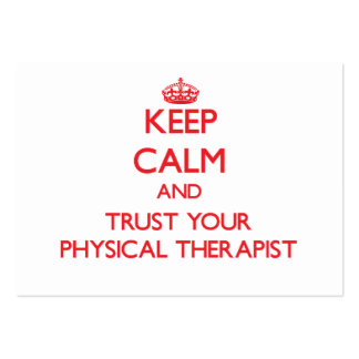 Mantenha a calma e confie seu arapist físico