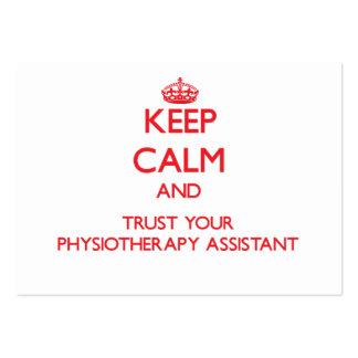 Mantenha a calma e confie seu assistente de Physio