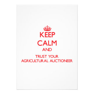 Mantenha a calma e confie seu leiloeiro agrícola
