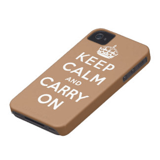 mantenha a calma e continue o original capa para iPhone