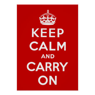 Posters Keep Calm