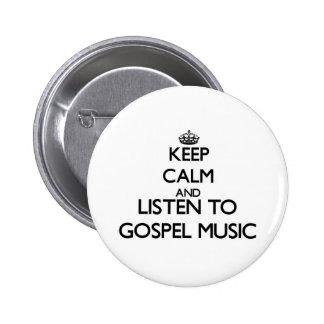 Mantenha a calma e escute a MÚSICA de EVANGELHO Boton