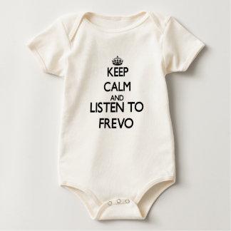 Mantenha a calma e escute FREVO Macacão