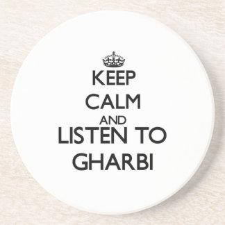 Mantenha a calma e escute GHARBI Porta Copo Para Bebidas