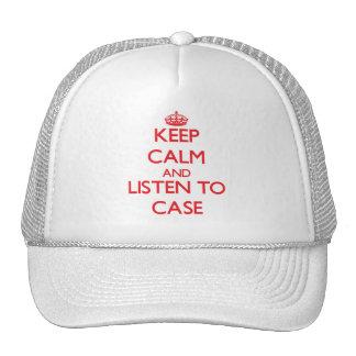 Mantenha a calma e escute o caso bones