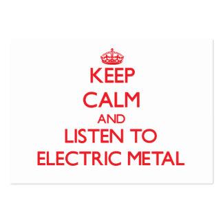Mantenha a calma e escute o METAL ELÉTRICO