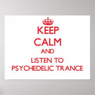 Mantenha a calma e escute o TRANCE PSICADÉLICO
