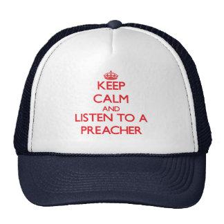 Mantenha a calma e escute um pregador bones