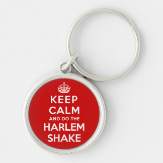 Mantenha a calma e faça a agitação de Harlem Chaveiros