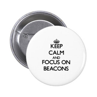 Mantenha a calma e o foco em balizas