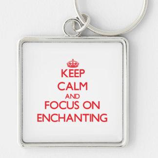 Mantenha a calma e o foco em ENCHANTING