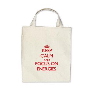 Mantenha a calma e o foco em ENERGIAS Bolsas