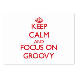 Mantenha a calma e o foco em Groovy