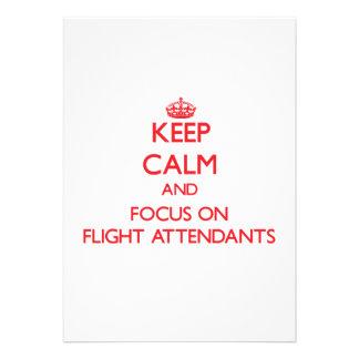 Mantenha a calma e o foco em hospedeiros de bordo
