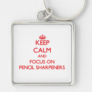 Mantenha a calma e o foco em Sharpeners de lápis