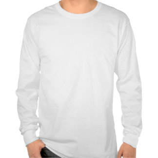 Mantenha a calma e o foco na aspereza camisetas