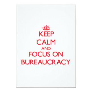 Mantenha a calma e o foco na burocracia convites personalizados