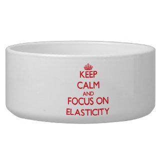 Mantenha a calma e o foco na ELASTICIDADE