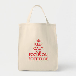 Mantenha a calma e o foco na fortaleza bolsas