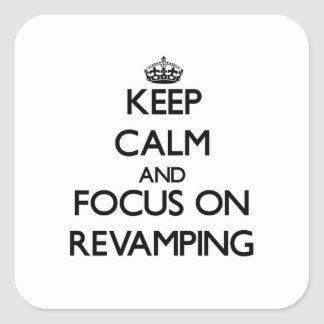 Mantenha a calma e o foco na melhora