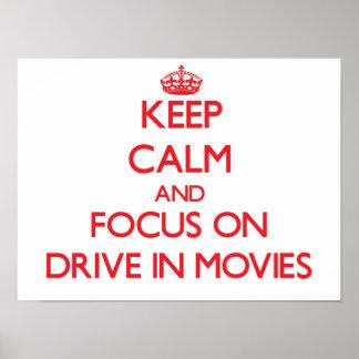 Mantenha a calma e o foco na movimentação nos film