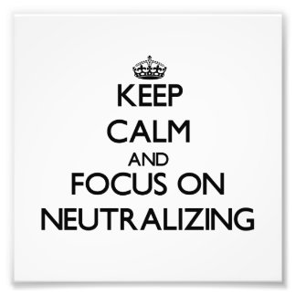 Mantenha a calma e o foco na neutralização foto