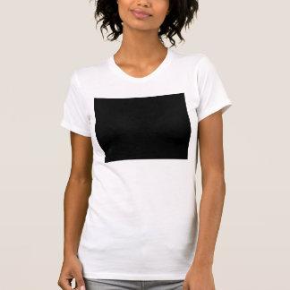 Mantenha a calma e o foco na tentação camisetas