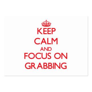 Mantenha a calma e o foco no agarramento