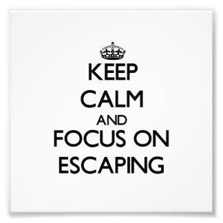 Mantenha a calma e o foco no ESCAPE Fotografia