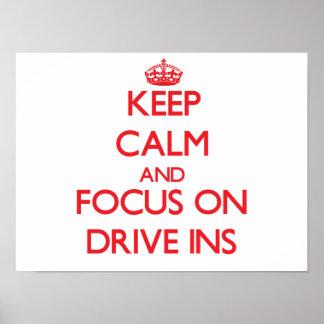 Mantenha a calma e o foco no Ins da movimentação