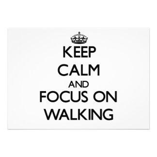 Mantenha a calma e o foco no passeio