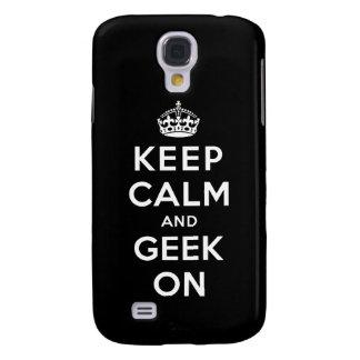 Mantenha a calma e o geek sobre galaxy s4 cover