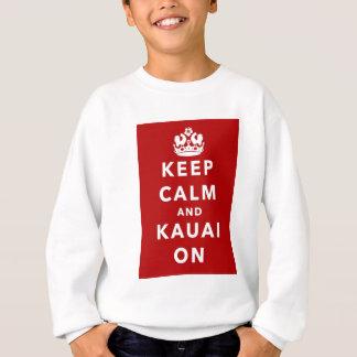 Mantenha a calma e o Kauai sobre Agasalho