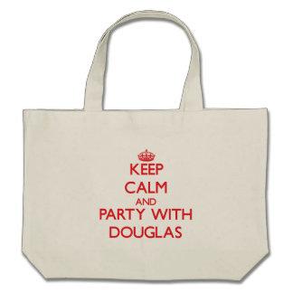 Mantenha a calma e o partido com Douglas Bolsa