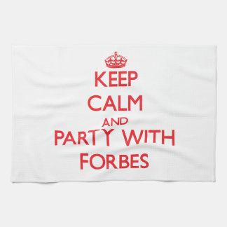 Mantenha a calma e o partido com Forbes