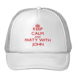 Mantenha a calma e o partido com John Bones