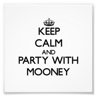 Mantenha a calma e o partido com Mooney Fotografia