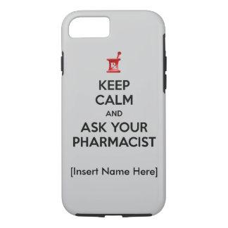 Mantenha a calma e peça seu caso do iPhone 7 do Capa iPhone 7
