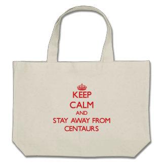 Mantenha a calma e permaneça longe dos centauros bolsa para compra