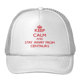 Mantenha a calma e permaneça longe dos centauros