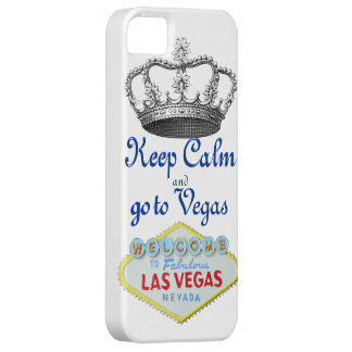 Mantenha a calma em Las Vegas Capa Barely There Para iPhone 5
