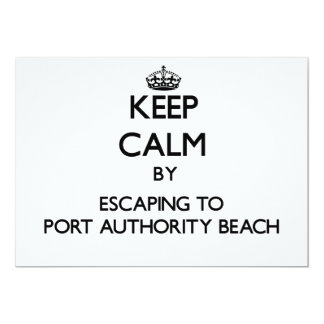 Mantenha a calma escapando à praia Guam da Convite Personalizado