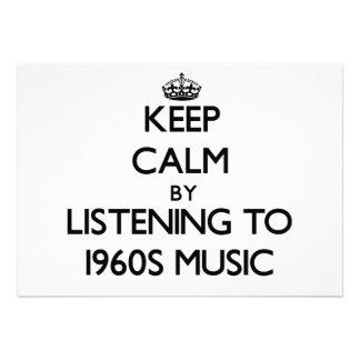 Mantenha a calma escutando a MÚSICA dos anos 60