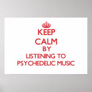 Mantenha a calma escutando a MÚSICA PSICADÉLICO